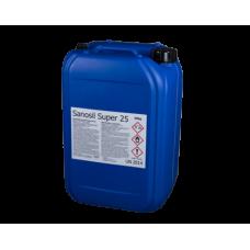 SANOSIL SUPER 25 Ag fertőtlenítő folyadék koncentrátum 30 kg/25 liter
